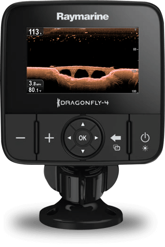 Buy Direct from Raymarine - Dragonfly 4PRO | Raymarine - A Brand by FLIR