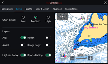 LightHouse 3.2 - C-MAP Active Captain | Raymarine by FLIR