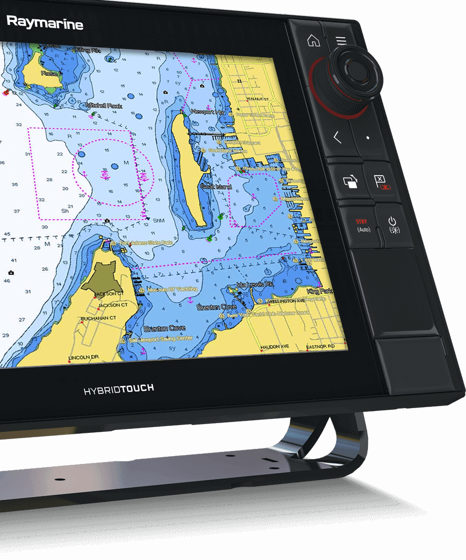 LightHouse 3.2 - Integración C-MAP | Raymarine by FLIR
