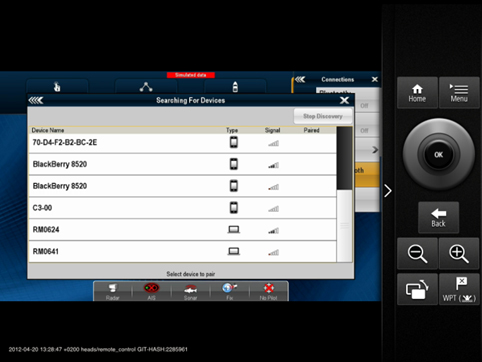 RayControl - Virtual Keyboard | Raymarine