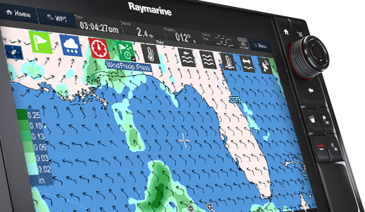 GRIB Viewer - Meteorología global | Raymarine