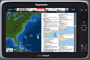 Viewing Raymarine manuals on your MFD | Raymarine